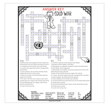 Load image into Gallery viewer, Cold War Comprehension Crossword