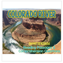 Load image into Gallery viewer, Colorado River Differentiated Nonfiction Reading Passages