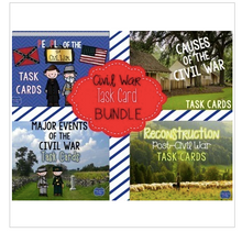 Load image into Gallery viewer, Civil War Task Cards Bundle