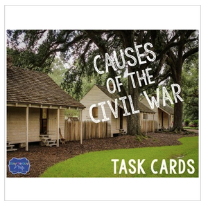 Civil War Task Cards Bundle
