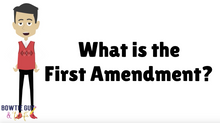 Load image into Gallery viewer, First Amendment and Bill of Rights video