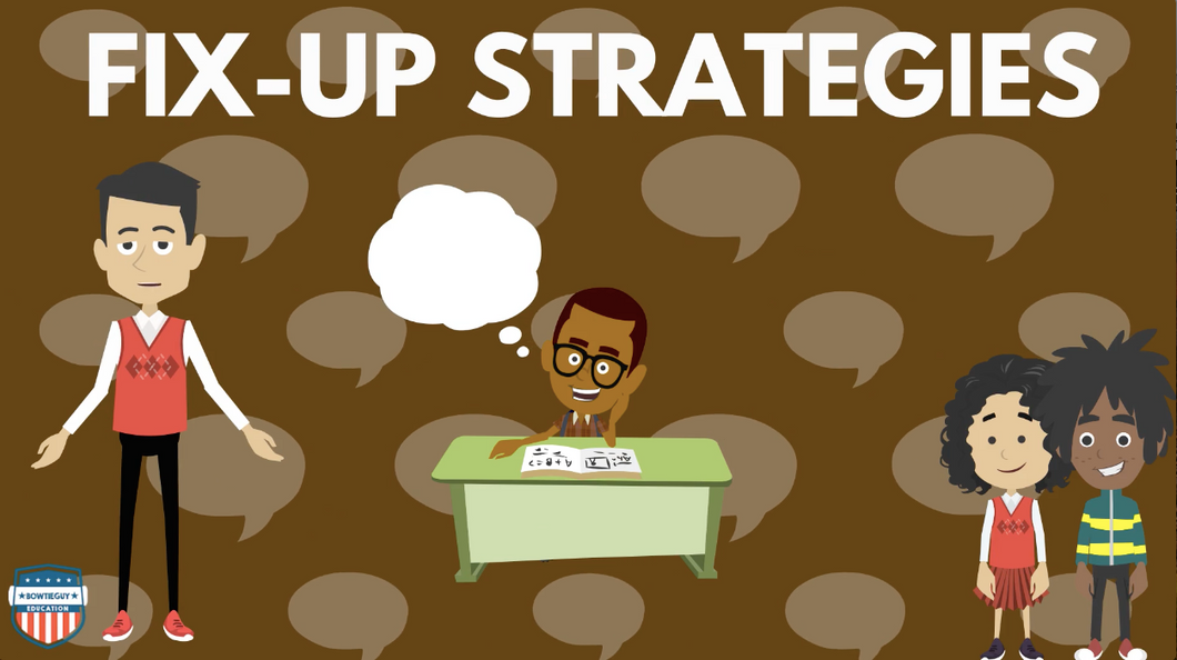 Fix-Up Reading Strategies Video