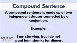 Types of Sentences Video for Sentence Variety- Simple, Compound, and Complex