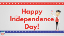 Load image into Gallery viewer, Independence Day Fourth of July Video