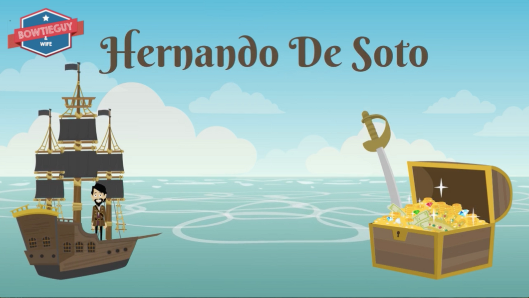Hernando de Soto Video: Famous European Explorer student information