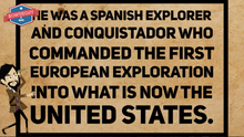 Load image into Gallery viewer, Hernando de Soto Video: Famous European Explorer student information
