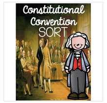 Load image into Gallery viewer, Constitutional Convention {Interactive Notebook Sort}