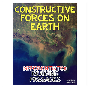 Constructive Forces on Earth: Deltas, Glaciers, Tectonic Plates & More!