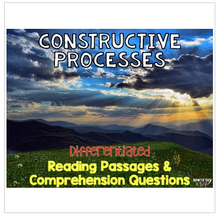 Load image into Gallery viewer, Constructive Processes Informational & Nonfiction Text & Comprehension