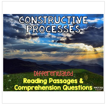 Constructive Processes Informational & Nonfiction Text & Comprehension