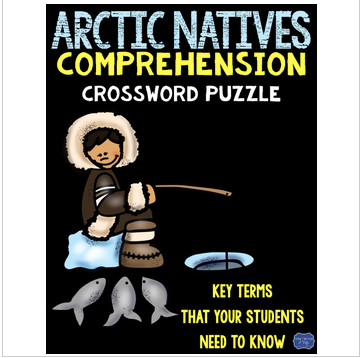Inuit Native Americans Comprehension Crossword