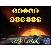 Load image into Gallery viewer, Solar System Task Cards for space and planets review