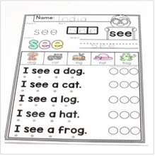 Load image into Gallery viewer, Sight Words Fluency and Word Work Bundle