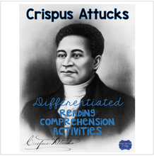 Load image into Gallery viewer, Crispus Attucks Differentiated Activities