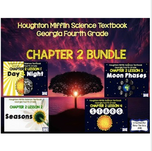 Load image into Gallery viewer, Cycles and Patterns in Space (Houghton Mifflin 4th Grade Science Chapter 2)