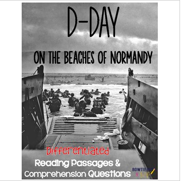 D Day Differentiated Reading Passages