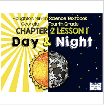 Day and Night (Houghton Mifflin 4th Grade Science Chapter 2 Lesson 1)