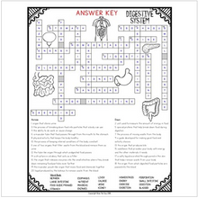 Load image into Gallery viewer, Digestive System Crossword