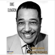 Load image into Gallery viewer, Duke Ellington Differentiated Reading Passages