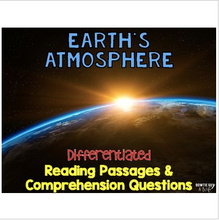 Load image into Gallery viewer, Earth's Atmosphere Informational & Nonfiction Text & Comprehension