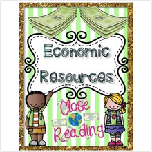 Load image into Gallery viewer, Economic Resources {Reading Passages & Questions}
