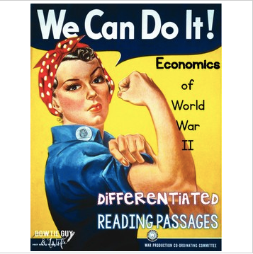 Economics of World War II Differentiated Reading Passages