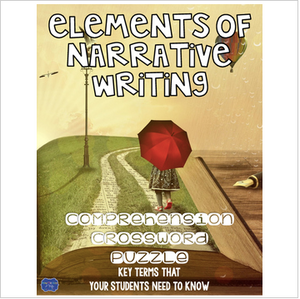 Elements of Narrative Writing Crossword