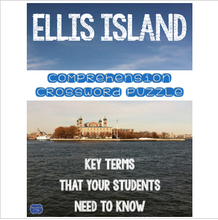 Load image into Gallery viewer, Ellis Island Crossword