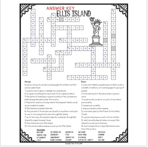 Ellis Island Crossword