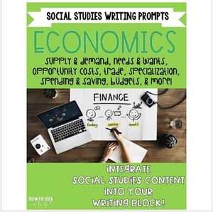 Economics Writing Prompts