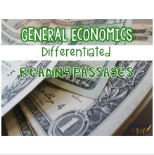 Load image into Gallery viewer, Economics {Differentiated Reading Passages & Questions}