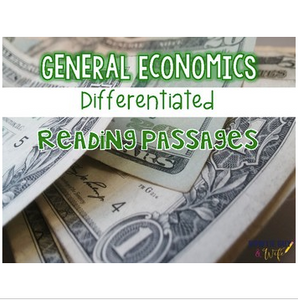 Economics {Differentiated Reading Passages & Questions}