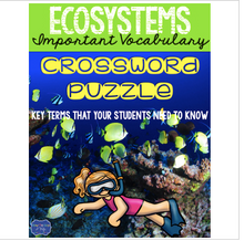 Load image into Gallery viewer, Ecosystems Crossword