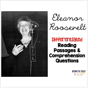 Eleanor Roosevelt Differentiated Reading Passages