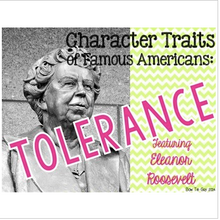 Load image into Gallery viewer, Eleanor Roosevelt Featuring Tolerance Differentiated Passages