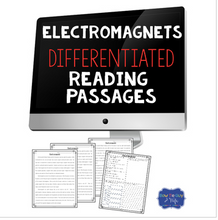 Load image into Gallery viewer, Electromagnets Differentiated Reading Comprehension Passages & Questions
