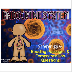 Endocrine System Differentiated Nonfiction Reading Passages