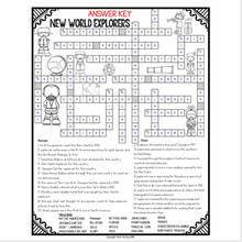 Load image into Gallery viewer, Explorer Crossword
