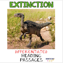 Load image into Gallery viewer, Extinction Differentiated Nonfiction Reading Passages