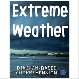 Extreme Weather Diagram & Questions: hurricanes, droughts, floods, & more!