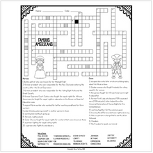 Load image into Gallery viewer, Famous American Crossword