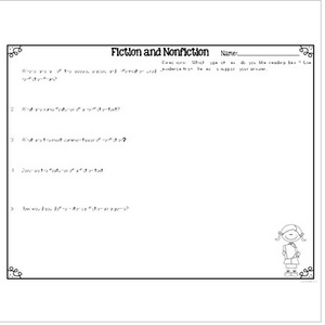 Fiction and Nonfiction Differentiated Leveled Texts and Questions