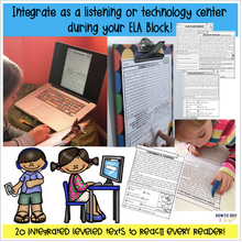 Load image into Gallery viewer, First Grade Social Studies Reading Passages w/Audio/Video Files