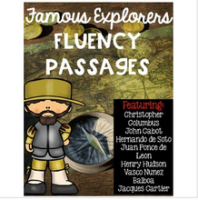 Load image into Gallery viewer, Famous Explorers Fluency Passages