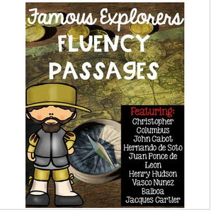 Famous Explorers Fluency Passages