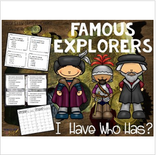 Load image into Gallery viewer, Famous Explorers Vocabulary and Key Terms Review Game for the Age of Exploration