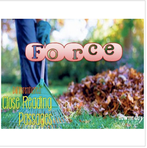 Force: Gravity and Friction {Differentiated Reading Passages}