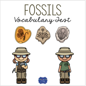 Fossils Vocabulary Test