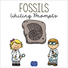Load image into Gallery viewer, Fossils Writing Prompts