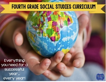 Fourth Grade Social Studies Curriculum History Government Geography & Economics